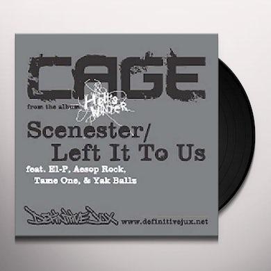 Cage SCENESTER (X3) / LEFT IT TO US (X3) Vinyl Record