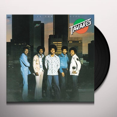 Tavares IN THE CITY Vinyl Record