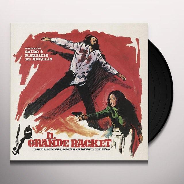 Maurizio De Angelis & Guido IL GRANDE RACKET / Original Soundtrack Vinyl Record