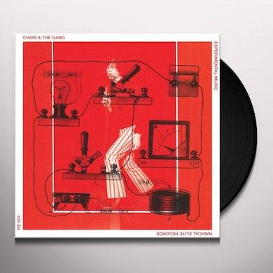 Chain & The Gang EXPERIMENTAL MUSIC Vinyl Record