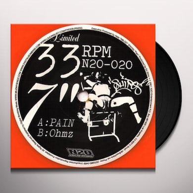 Dj Shiro PAIN: OHMZ Vinyl Record