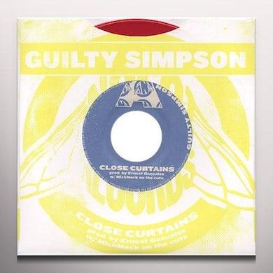 Guilty Simpson CLOSE CURTAINS / UNBELIEVABLE Vinyl Record