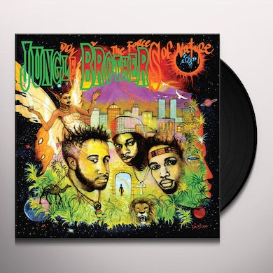 Jungle Brothers DONE BY THE FORCES OF NATURE Vinyl Record