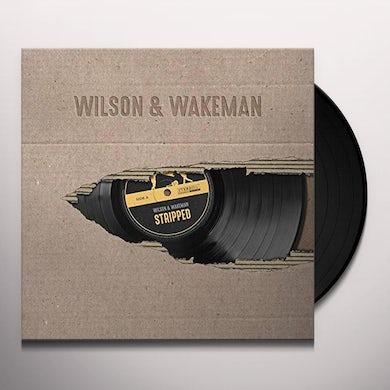 Damian Wilson / Adam Wakeman STRIPPED Vinyl Record