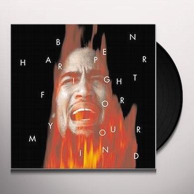 Ben Harper FIGHT FOR YOUR MIND Vinyl Record - Limited Edition, 180 Gram Pressing