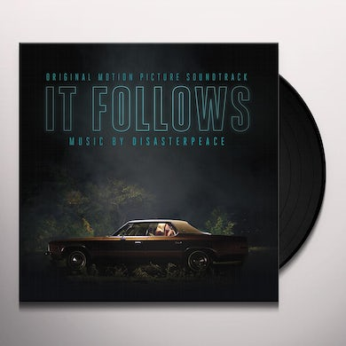 DISASTERPEACE  IT FOLLOWS / Original Soundtrack Vinyl Record