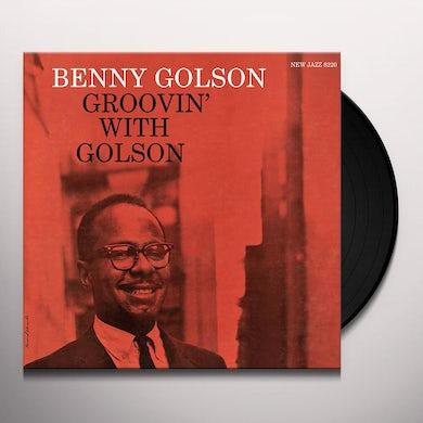 Benny Golson GROOVIN' WITH GOLSON Vinyl Record