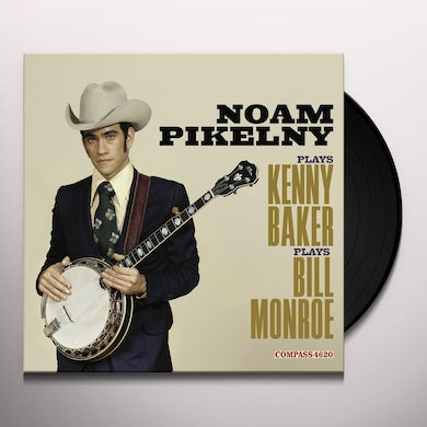 PLAYS KENNY BAKER PLAYS BILL MONROE Vinyl Record