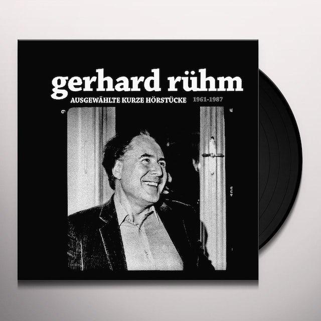 Gerhard Ruhm AUSGEWAHLTE KURZE HORSTUCKE Vinyl Record