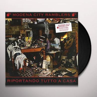 Modena City Ramblers RIPORTANDO TUTTO A CASA Vinyl Record