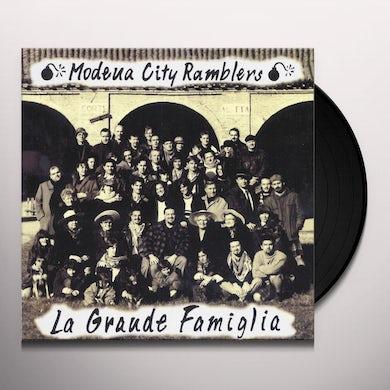 Modena City Ramblers LA GRANDE FAMIGLIA Vinyl Record