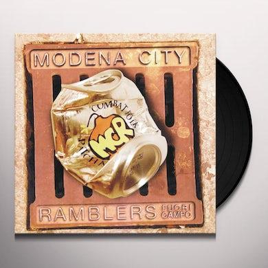 Modena City Ramblers FUORI CAMPO Vinyl Record