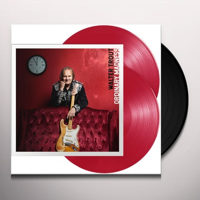 Walter Trout Ordinary Madness Vinyl Record