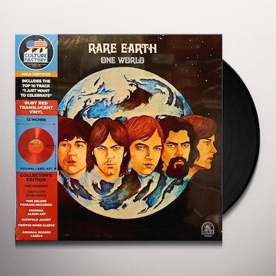 ONE WORLD (RED TRANSLUCENT VINYL) Vinyl Record