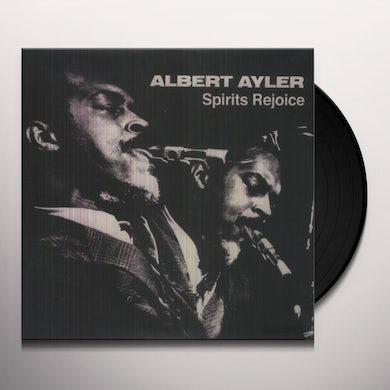 Albert Ayler SPIRITS REJOICE Vinyl Record