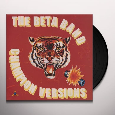 The Beta Band CHAMPION VERSIONS Vinyl Record
