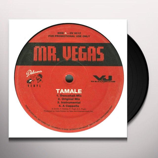 Mr. Vegas TAMALE Vinyl Record