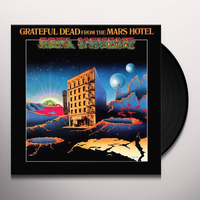 Grateful Dead FROM THE MARS HOTEL Vinyl Record