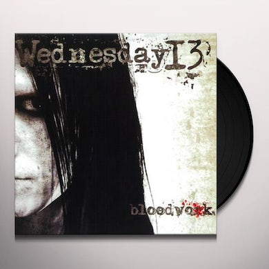 Wednesday 13 BLOODWORK Vinyl Record