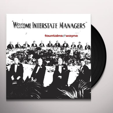 Fountains Of Wayne Welcome Interstate Managers (Red Vinyl E Vinyl Record