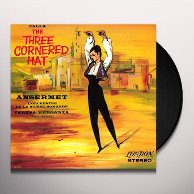 Ernest Ansermet FALLA THE THREE CORNERED HAT Vinyl Record
