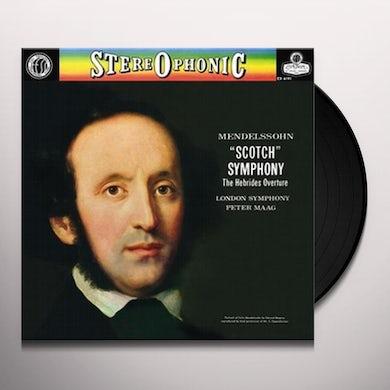 Mendelssohn / Maag / London Sym Orch SYMPHONY 3 SCOTCH SYMPHONY Vinyl Record