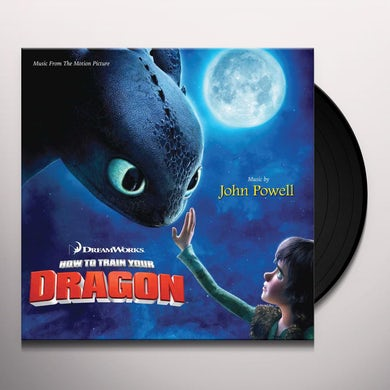 """John Powell How To Train Your Dragon (10"""" Picture Disc) Vinyl Record"""