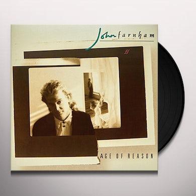 John Farnham AGE OF REASON Vinyl Record