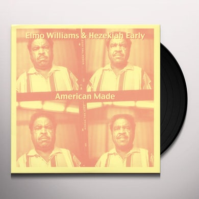 Elmo Williams AMERICAN MADE Vinyl Record