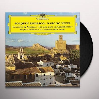 Rodrigo / Yepes / Orquesta Sinfonica De / Alonso CONCIERTO DE ARANJUEZ / FANTASIA PARA UN GENTILHOM Vinyl Record
