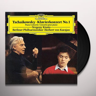 Tchaikovsky / Kissin / Karajan / Berliner Philharm PIANO CONCERTO NO 1 IN B FLAT MINOR OP 23 Vinyl Record
