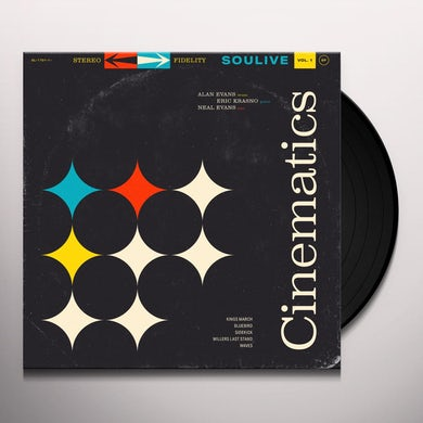 Soulive CINEMATICS VOL. 1 Vinyl Record