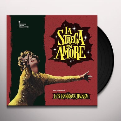 Luis Bacalov La strega in amore (Original Motion Picture Soundtrack) (LP) Vinyl Record