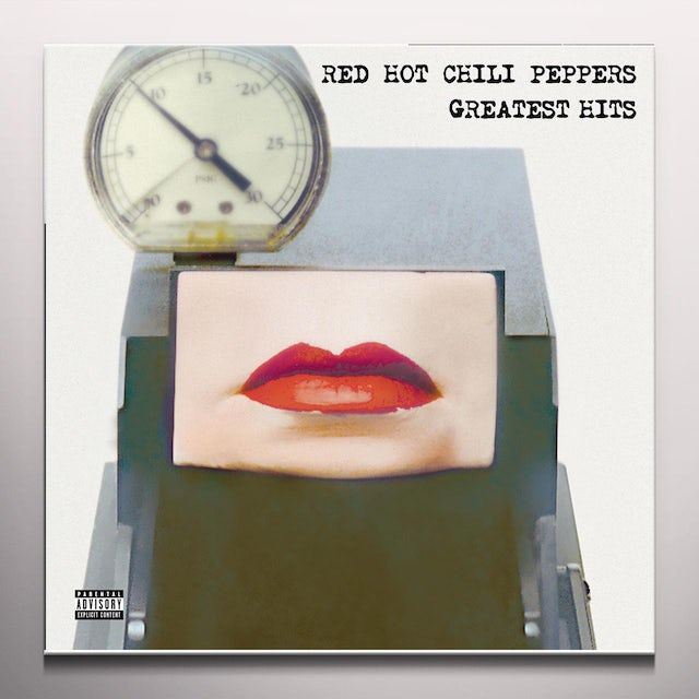 Red Hot Chili Peppers PEPPERS GREATEST HITS   (SLV) Vinyl Record - Colored Vinyl, Limited Edition