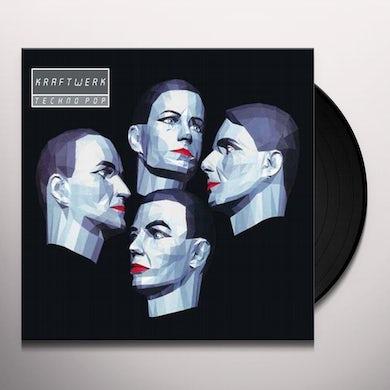 Kraftwerk TECHNO POP (GERMAN VERSION) Vinyl Record