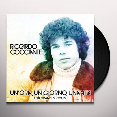 Riccardo Cocciante UN ORA UN GIORNO UNA VITA Vinyl Record