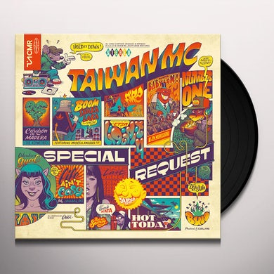 Taiwan Mc SPECIAL REQUEST Vinyl Record