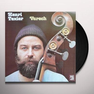 Henri Texier VARECH Vinyl Record