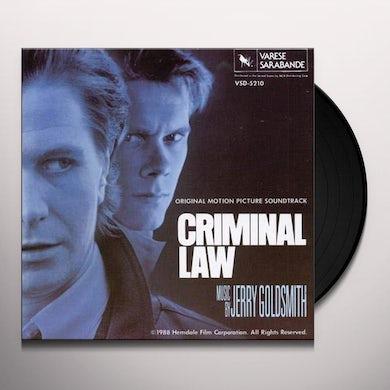 CRIMINAL LAW / O.S.T.  CRIMINAL LAW / Original Soundtrack Vinyl Record