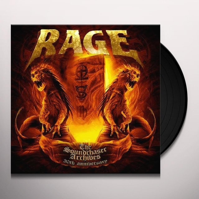 Rage SOUNDCHASER ARCHIVES BOXSET Vinyl Record