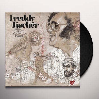 Freddy Fischer / His Cosmic Rocktime Band DREIMAL UM DIE SONNE Vinyl Record