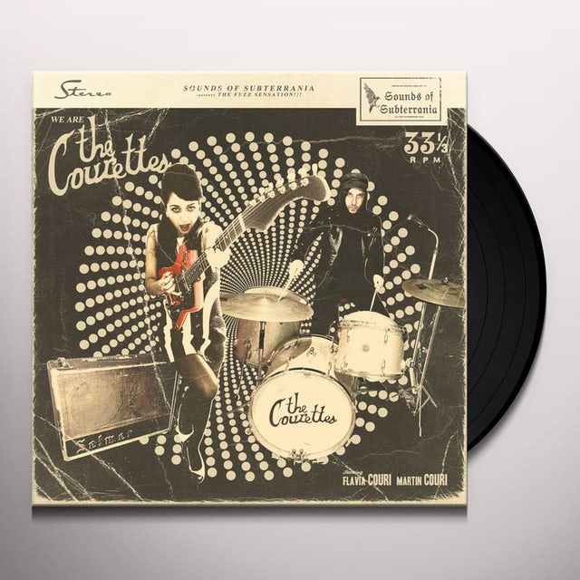 WE ARE THE COURETTES Vinyl Record