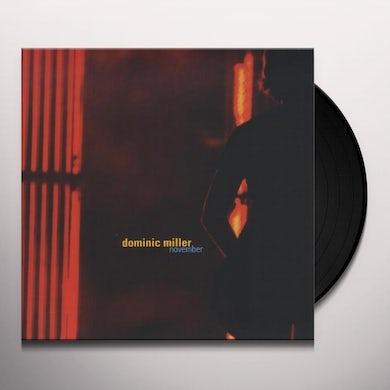 Dominic Miller NOVEMBER Vinyl Record