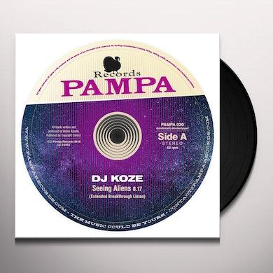 Dj Koze SEEING ALIENS Vinyl Record