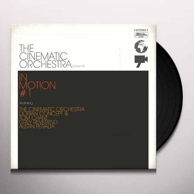 The Cinematic Orchestra IN MOTION # 1 Vinyl Record