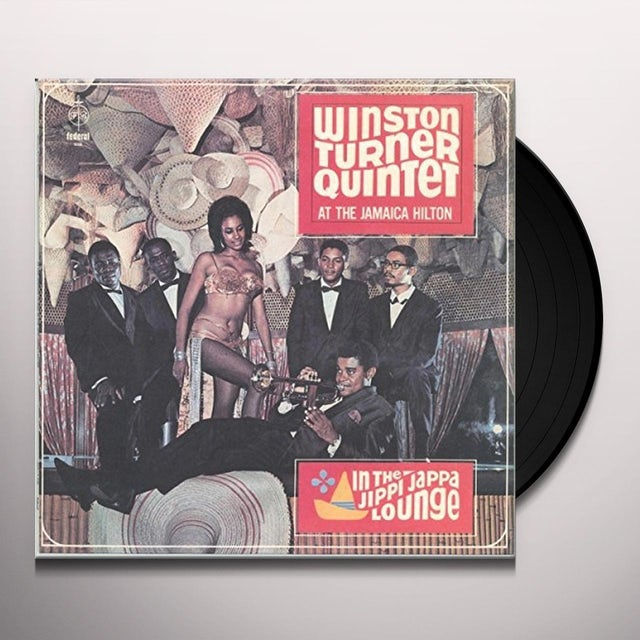 Winston Turner AT THE JAMAICA HILTON: IN THE JIPPI JAPPA LOUNGE Vinyl Record