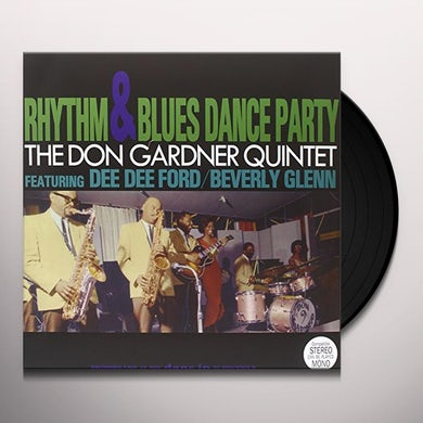 DON GARDNER QUINTET RHYTHM & BLUES DANCE PARTY Vinyl Record - UK Release
