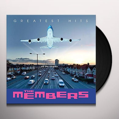 MEMBERS GREATEST HITS: ALL THE SINGLES Vinyl Record