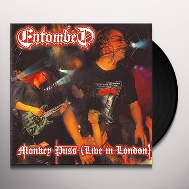 Entombed MONKEY PUSS: LIVE IN LONDON Vinyl Record
