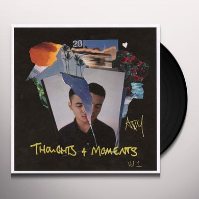 Ady Suleiman THOUGHTS & MOMENTS VOL 1 MIXTAPE Vinyl Record